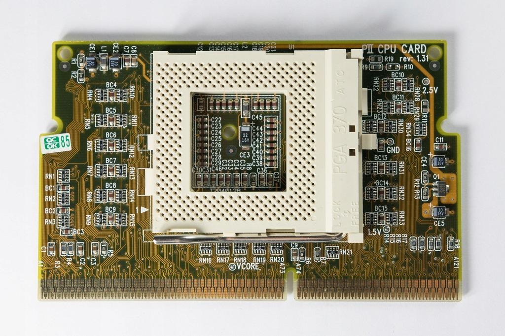 Socket370 slot1 adapter PII CPU Card rev 1.31
