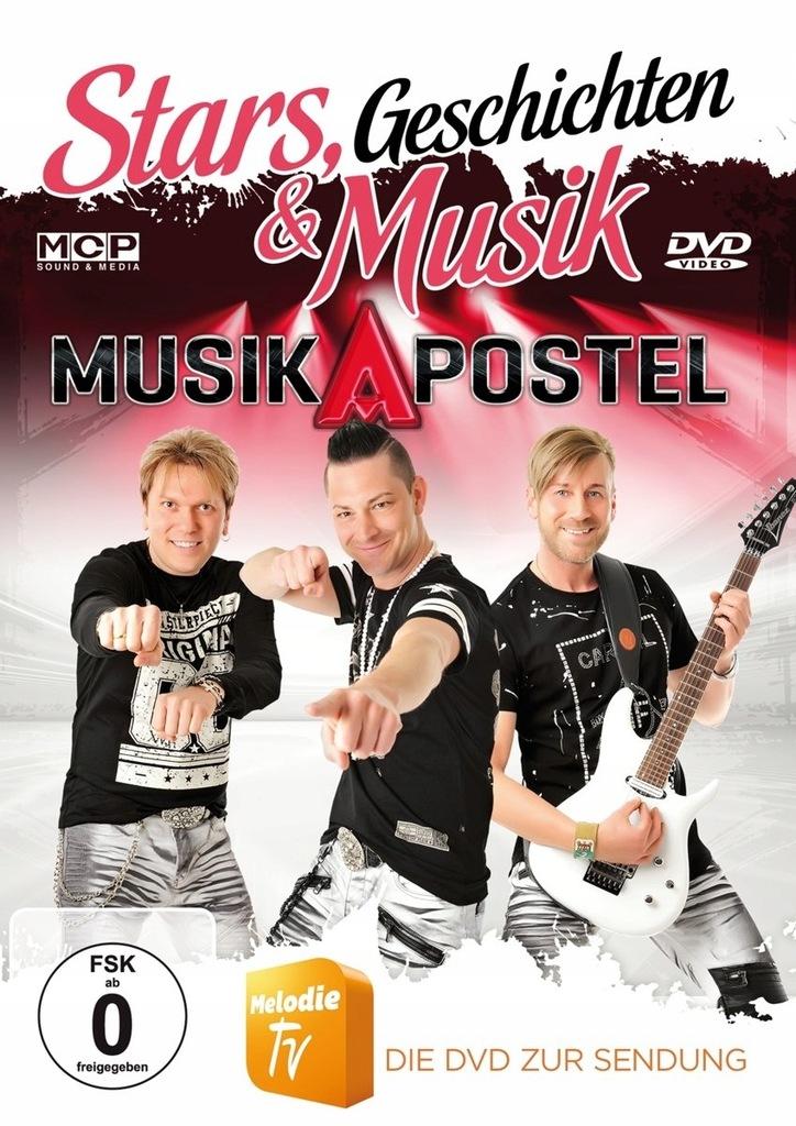 DVD Musikapostel - Stars, Geschichten &.. .. M