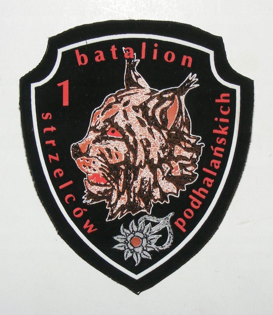 WP 1 BATALION STRZELCÓW PODHALAŃSKICH SITO #2 1999