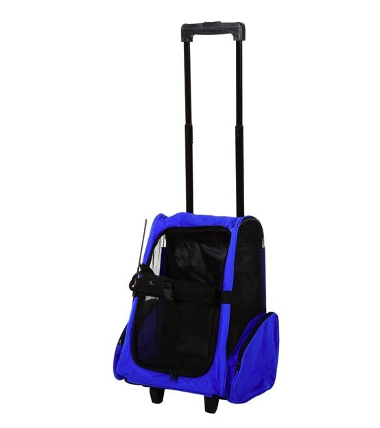 PLECAK TRANSPORTER DLA PSA KOTA 2w1 niebieski