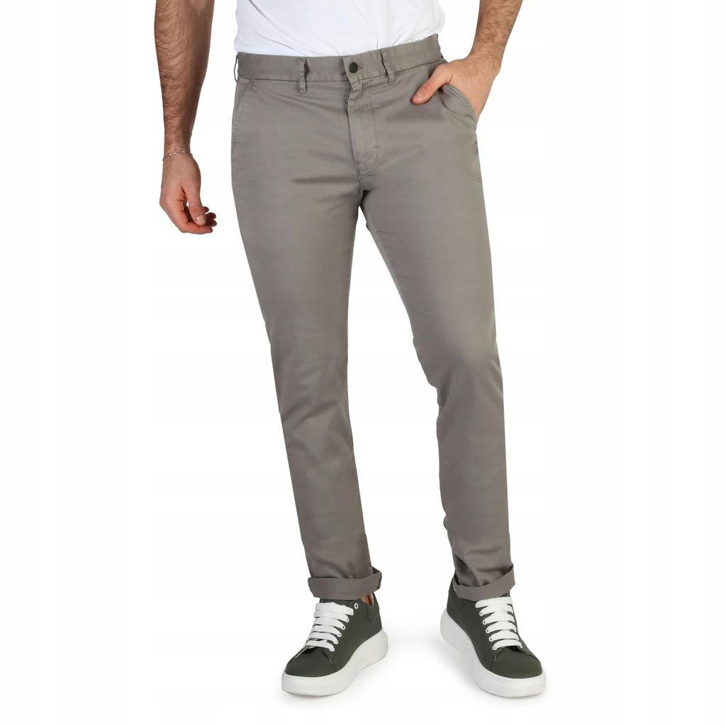 Spodnie męskie Calvin Klein J30J304812 Szary 33