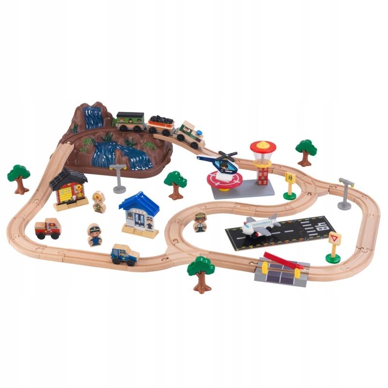 Drewniana Kolejka Pociąg w Pudełku KidKraft