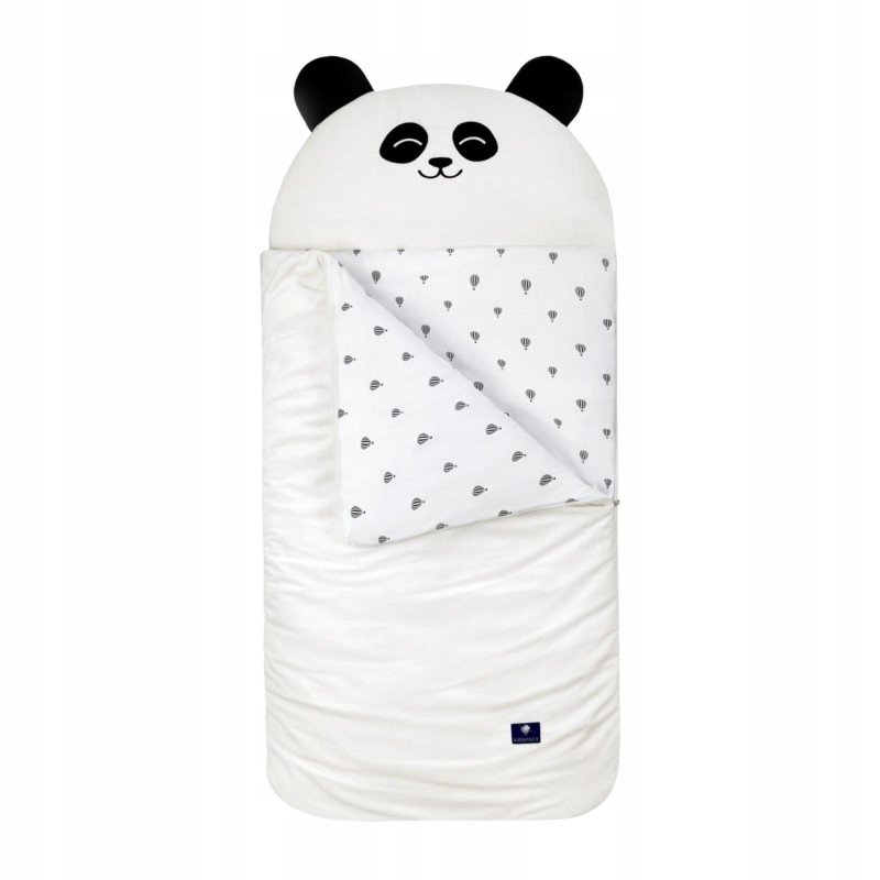 Śpiworek Sleepover S - Biała Panda Kidspace