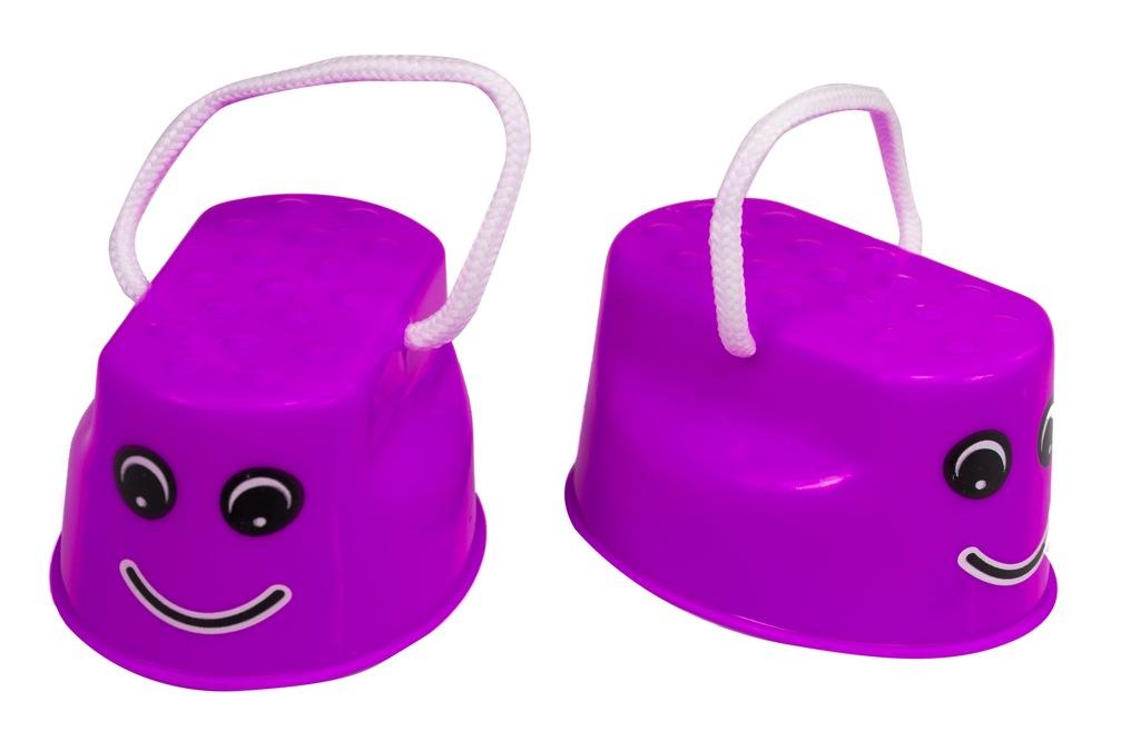 Szczudła dla dzieci hodaczki równowaga 2szt Fiolet