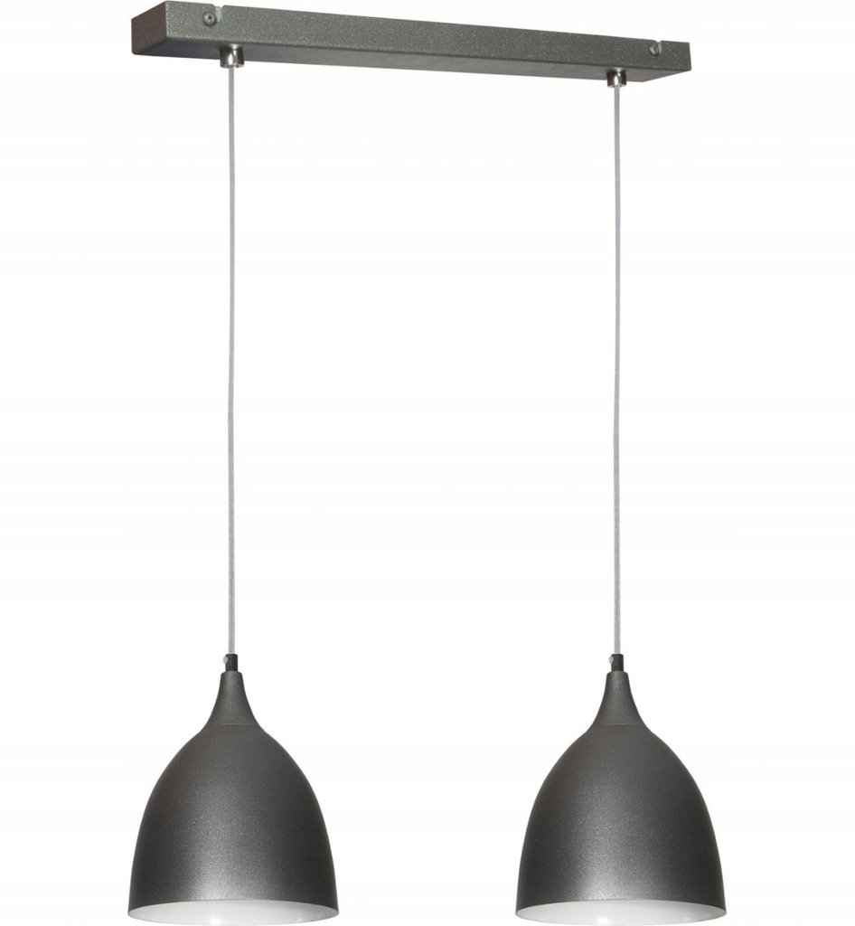 NOWOCZESNA LAMPA WISZACA KROPLA 2 ZWIS 6 KOLORÓW