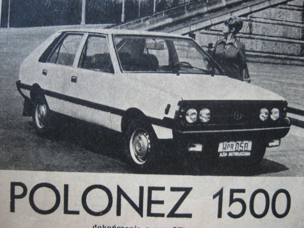 MODELARZ FSO POLONEZ 1500 Plan 1979