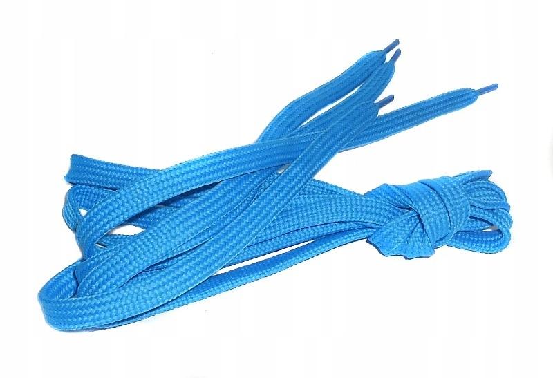 120cm Sznurowadła Sznurówki Sneakers Niebieskie