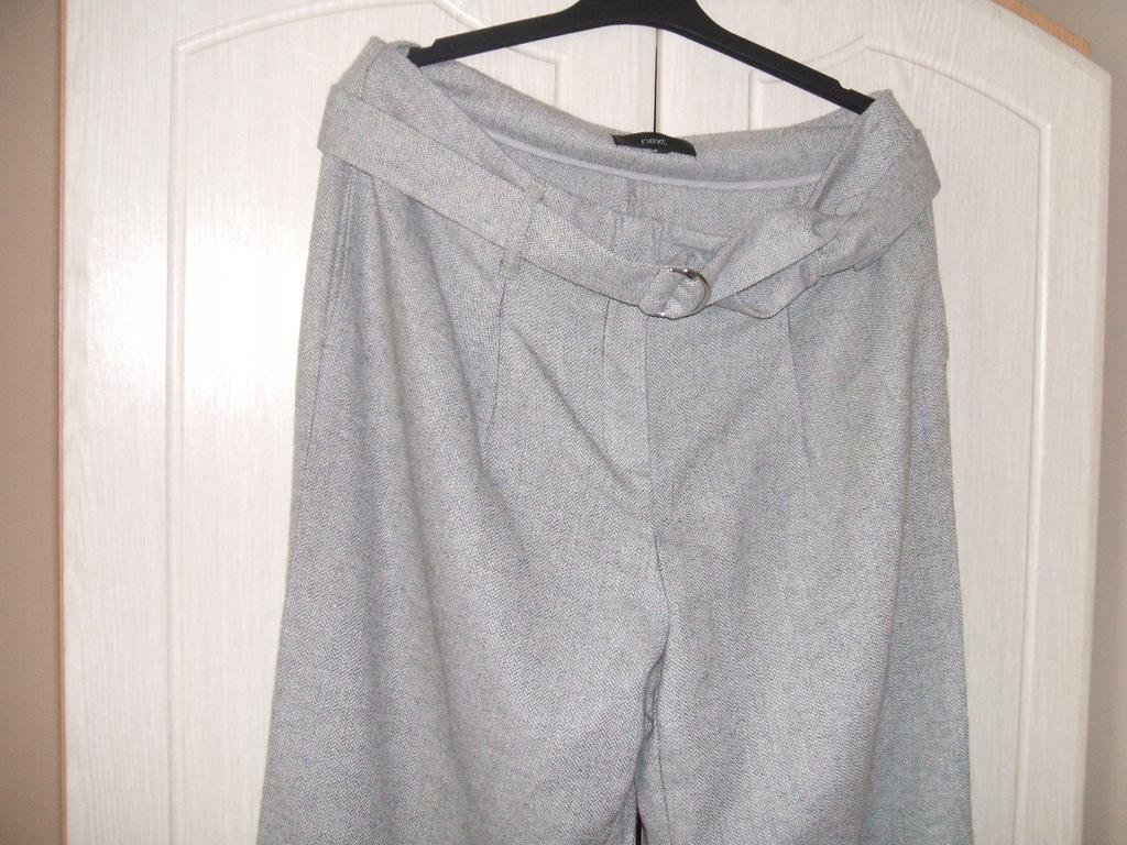 Next spodnie 42 popiel