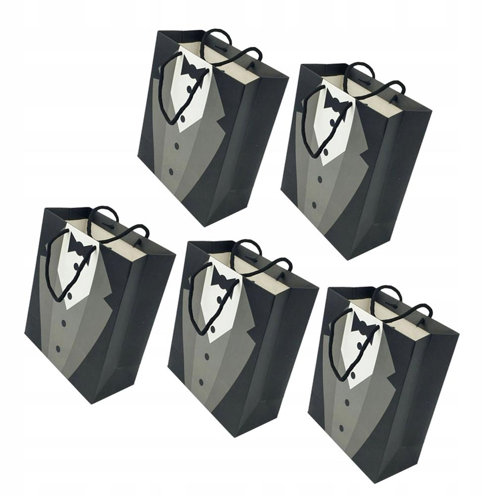 5 sztuk praktyczna torebka papierowa elegancka tor