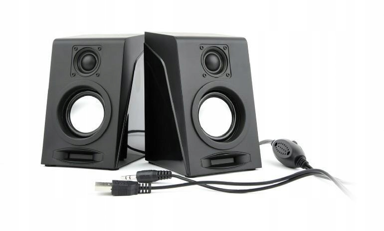 Głośniki przewodowe Gembird Bryza SPK-DU-03 czarne