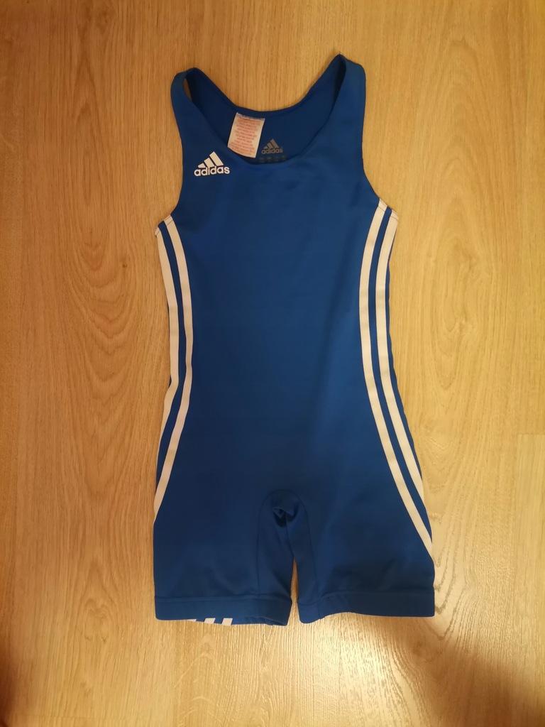 kostium, trykot zapaśniczy addidas 9-10 lat 140 cm