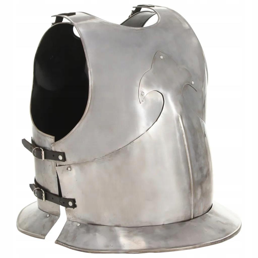 Stalowa Replika Napierśnika Średniowiecznej Zbroi