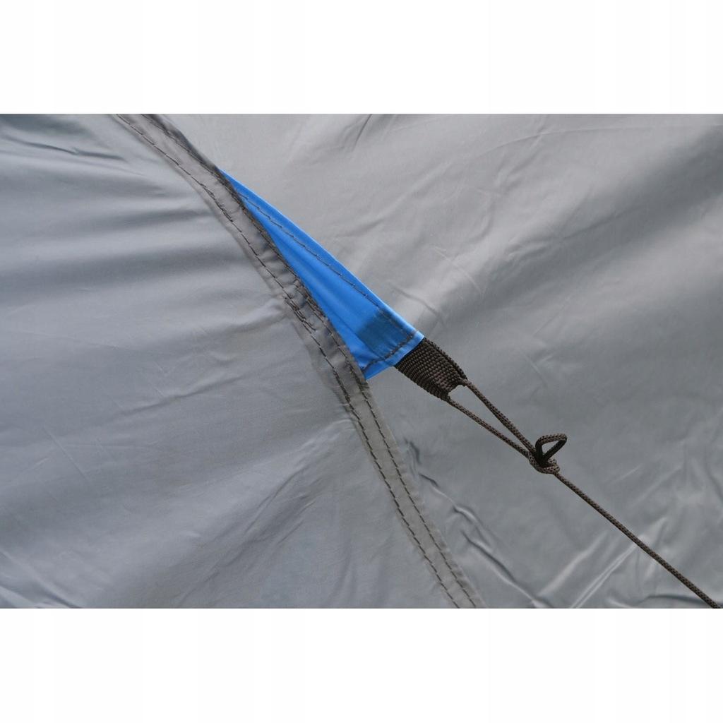 Royokamp, Namiot 4 osobowy, Cool, szaro niebieski Royokamp