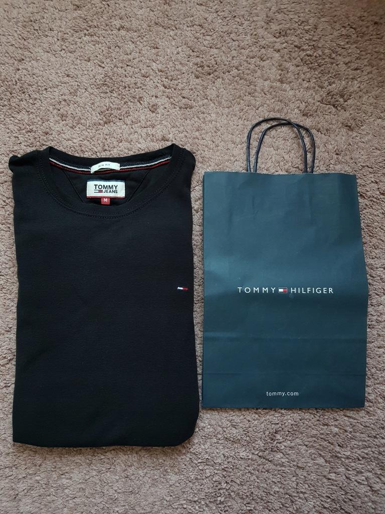 Tommy Hilfiger koszulka z dł rękawem M