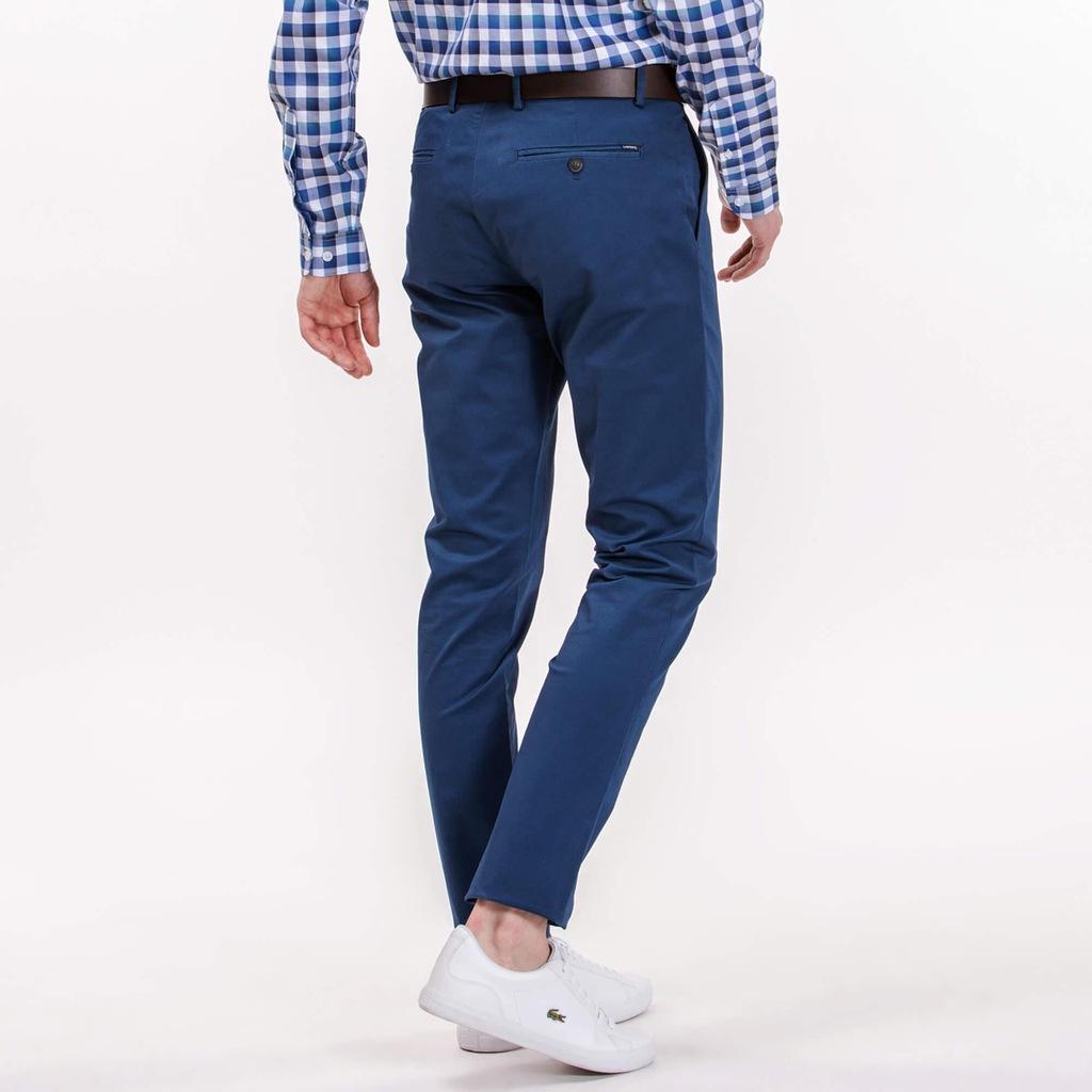 Lacoste Chino Slim Fit spodnie NOWE 34