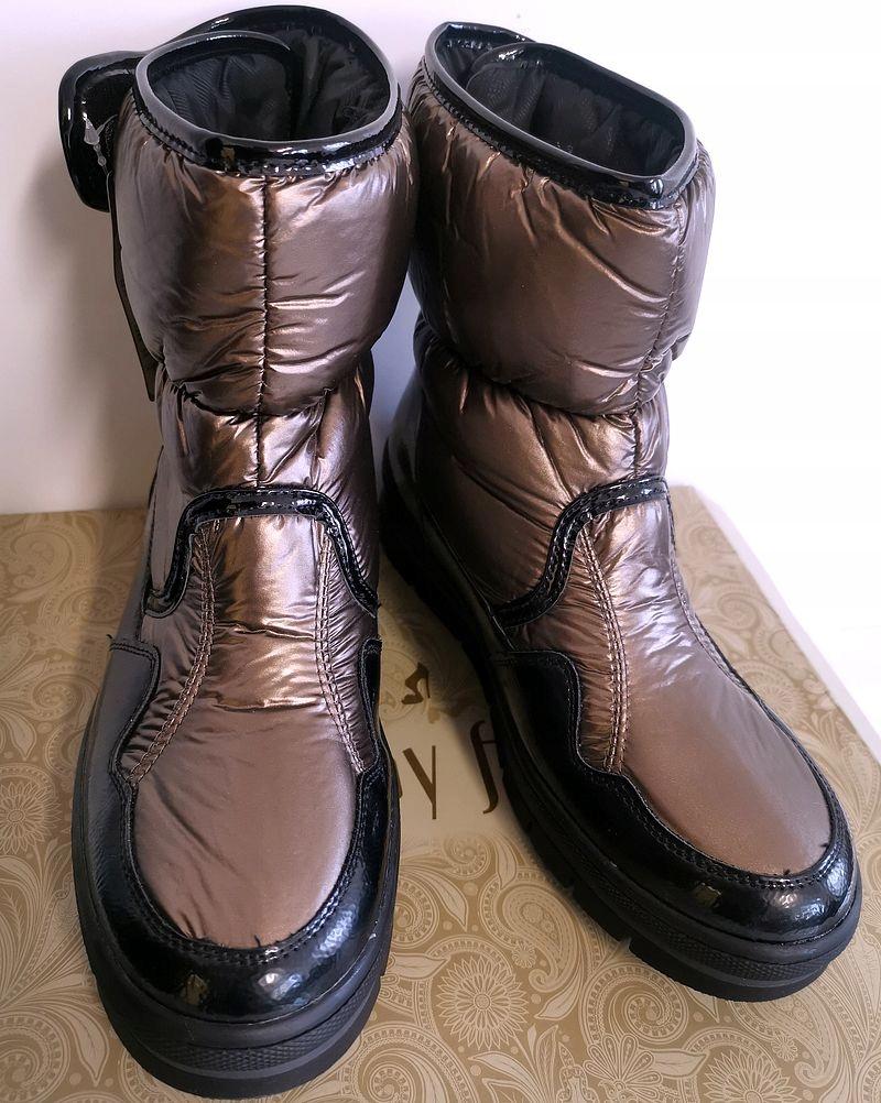 Botki śniegowce JENNY FAIRY 39 CCC buty damskie