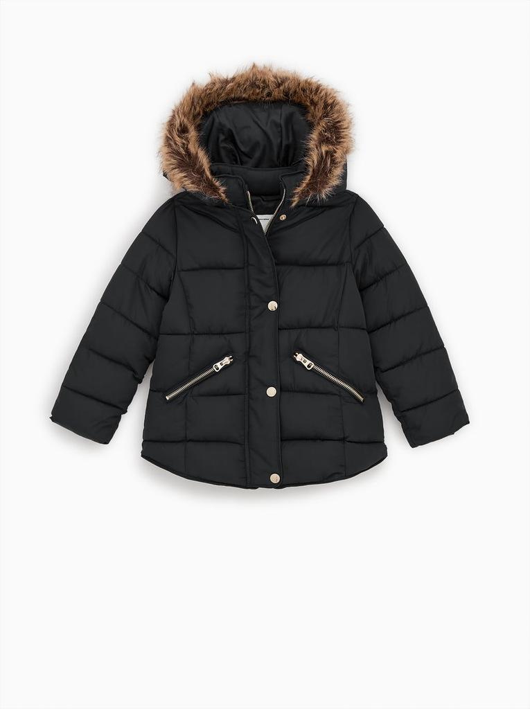 ZARA kurtka zimowa dziewczynka pikowana 164
