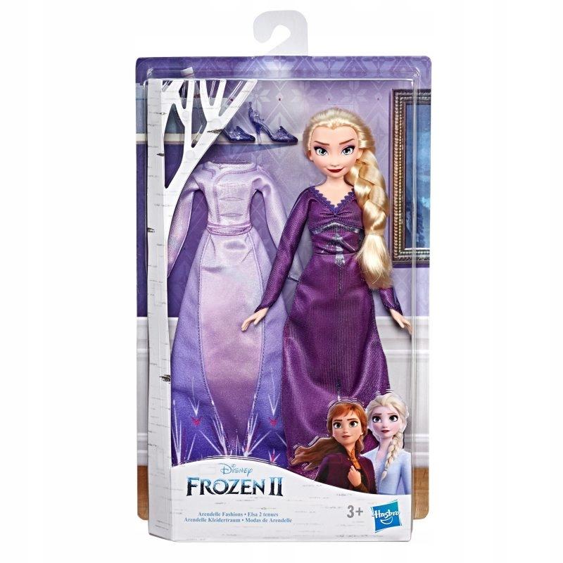 Frozen 2 Kraina Lodu Lalka Elsa Z Dwoma Kreacjami 8743377581 Oficjalne Archiwum Allegro