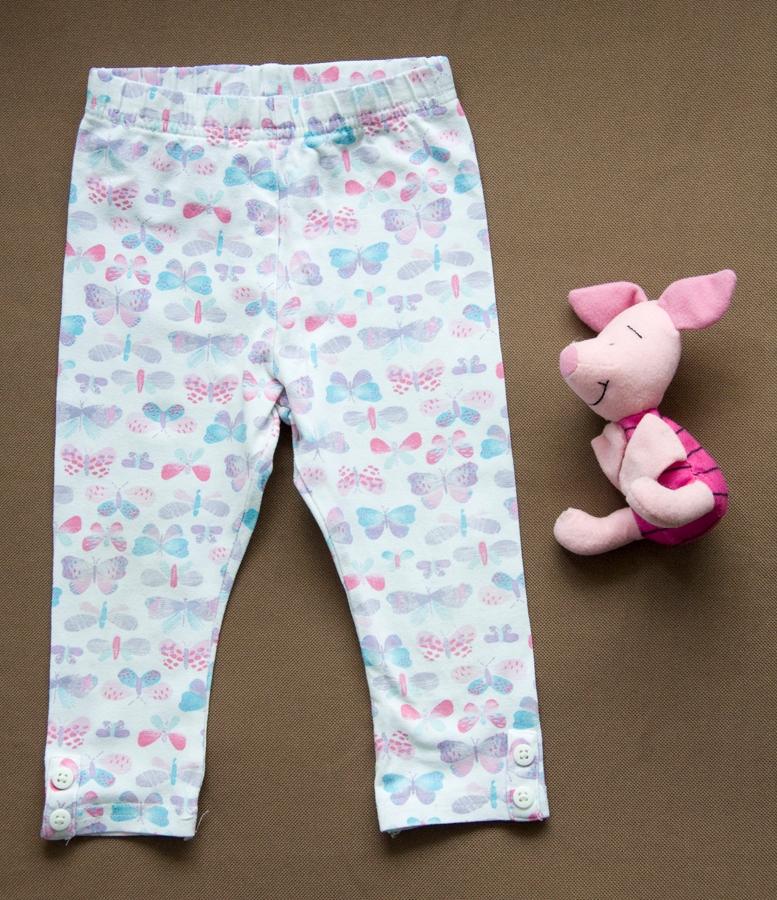 Spodnie legginsy R 80, 9-12m MOTYLE