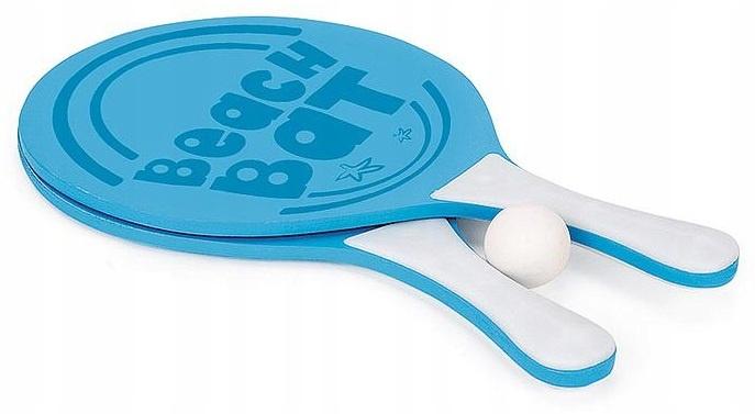 TOYRIFIC zestaw do gry w piłkę plażową 37,5 cm