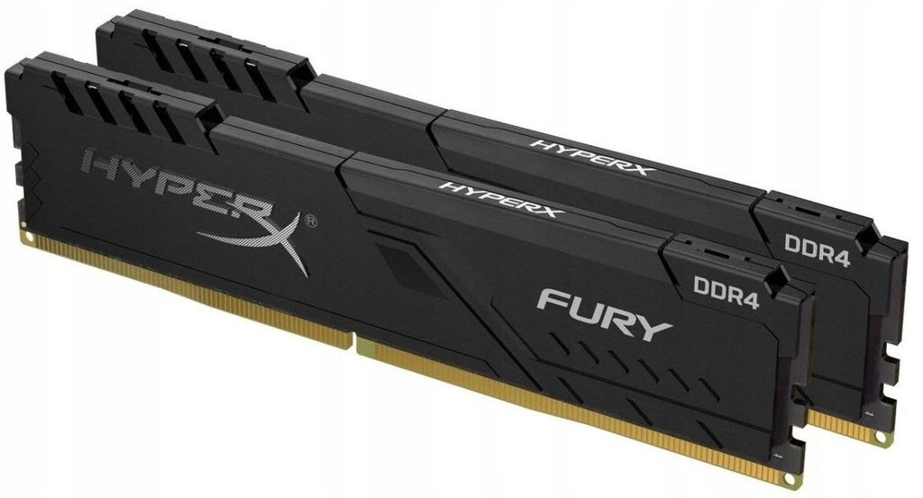 Zestaw pamięci DDR4 Fury Black 32GB/3733 (2x16GB)