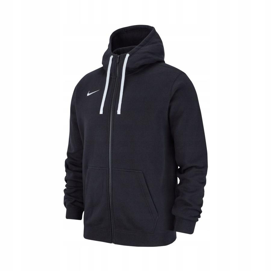 Bluza Nike Hoodie FZ Y Team Club 19 czarny rozm L