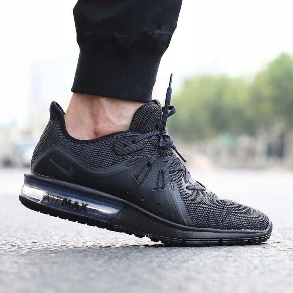 46 Buty męskie Nike AIR MAX SEQUENT 3 921694 010 Ku9Jq