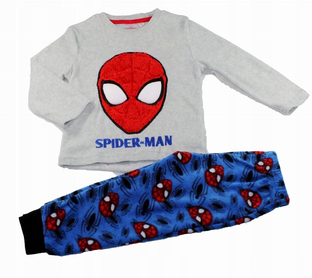 SPIDER-MAN Spiderman Piżama polarowa 128 LICENCJA