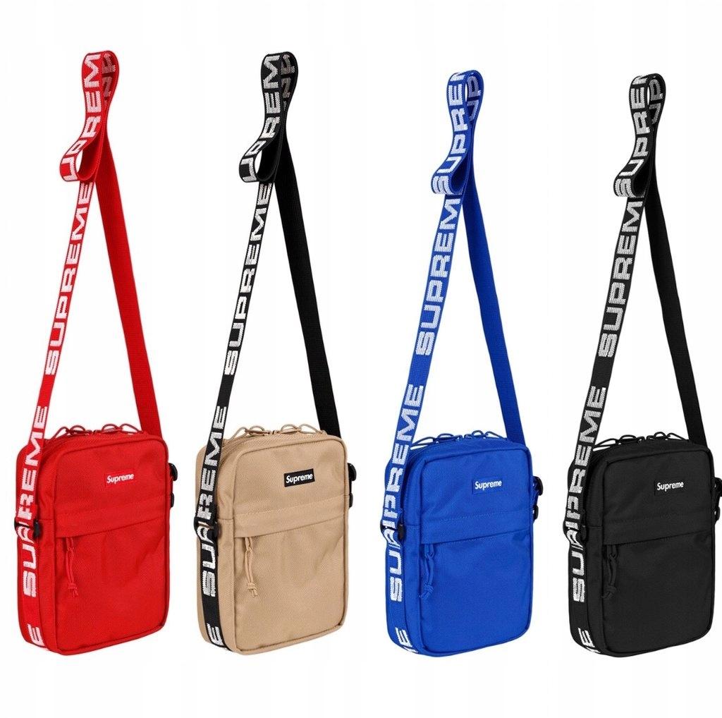 Shoulder Bag Supreme Czarny 8247240177 Oficjalne Archiwum Allegro