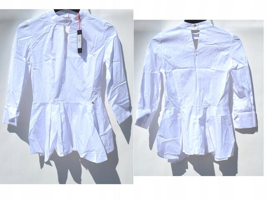 Rinascimento Biała koszula elegancka S
