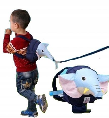 Plecak Smycz Dziecka Nauka Chodzenia Slon Smieszny 7683922753 Oficjalne Archiwum Allegro