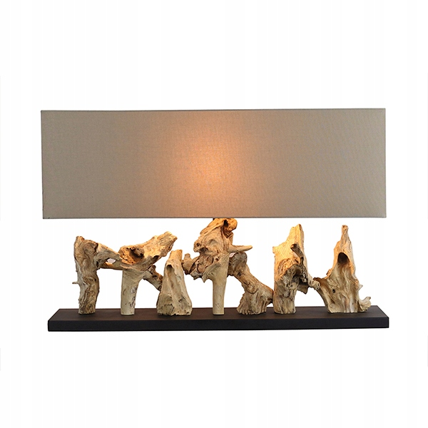 Lampa stołowa Drewno akacjowe