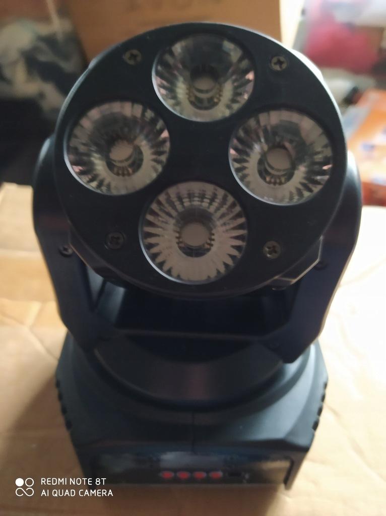 2 x GO WASH NANO 4 – 4x12W RGBW 4in1 Ruchoma Głowa