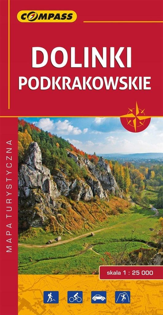 Mapa Dolinki Podkrakowskie
