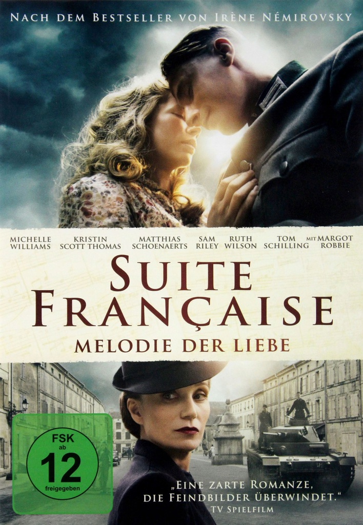 SUITE FRANCAISE (FRANCUSKA SUITA) (DE) [DVD]