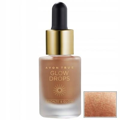 AVON Glow Drops Brązer w płynie - Bronze Vibes