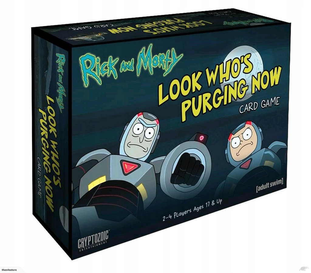 RICK AND MORTY LOOK WHO'S PURGING NOW (KARTY)