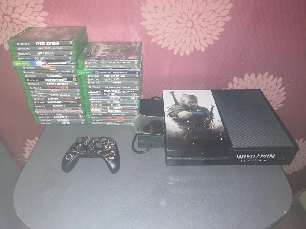 Mega zestaw Xbox One 500gb+ 40 gier !!!