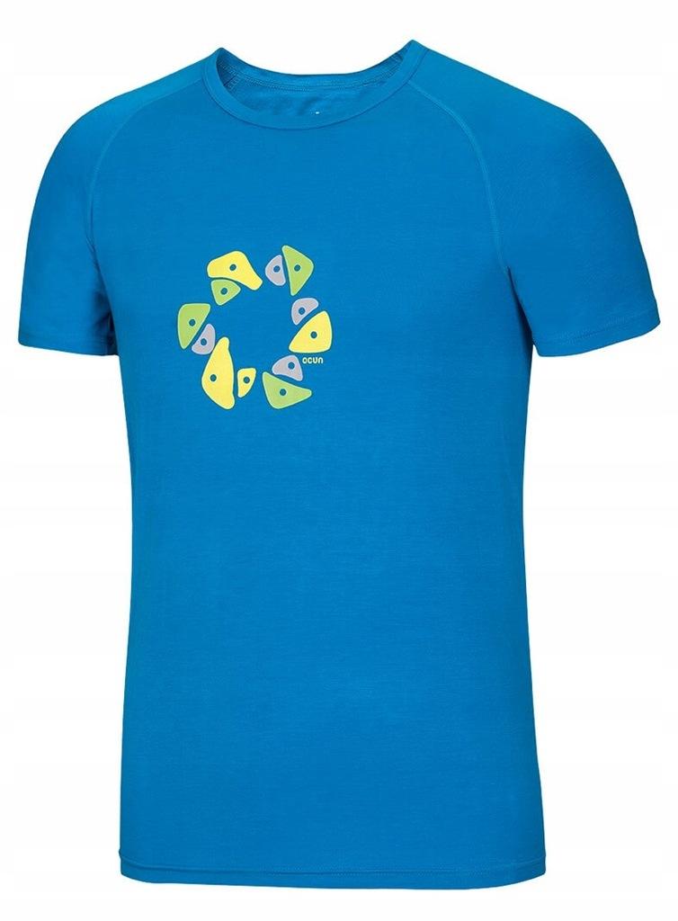 Koszulka Bamboo T Holds Ocun Vivid Blue XL
