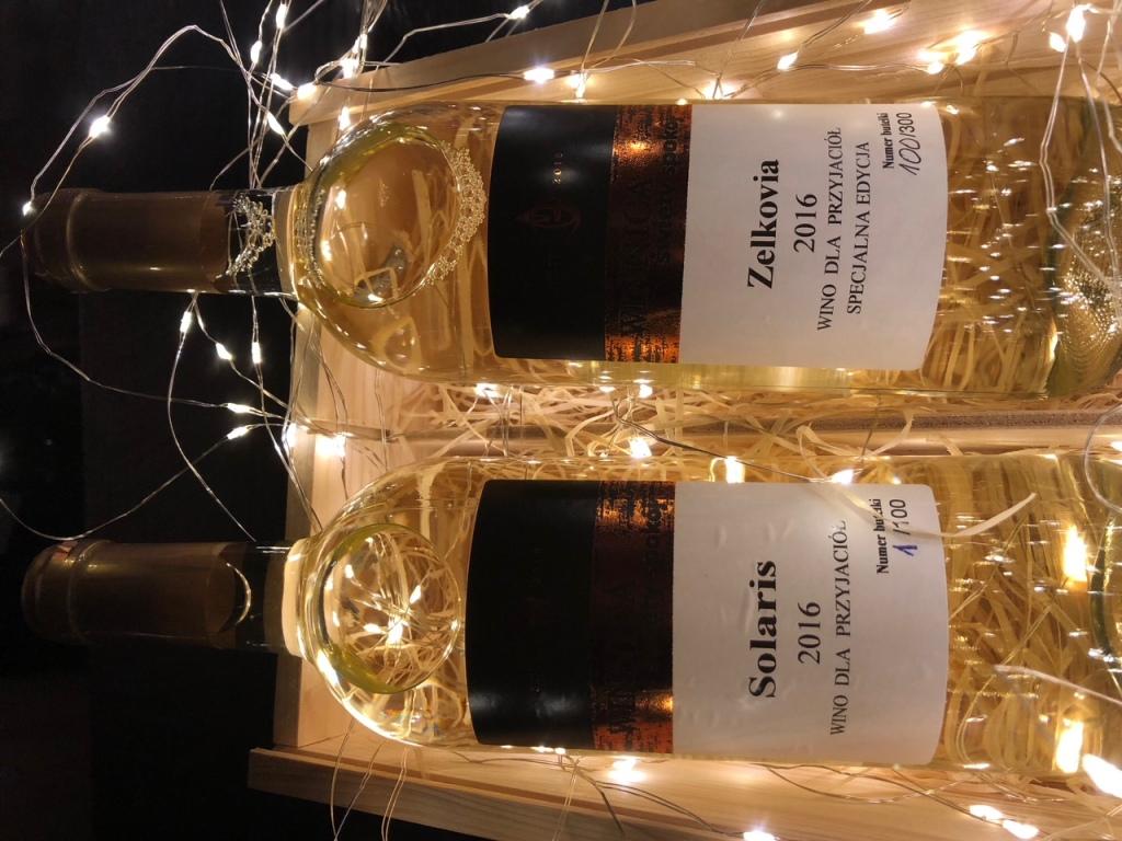 Winnica Święty Spokój dwa kolekcjonerskie wina