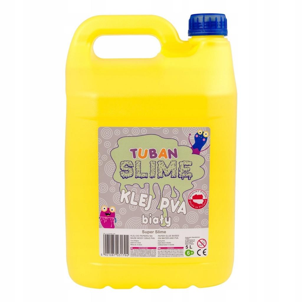 BIAŁY KLEJ PVA 5L do robienia glut Tuban Slime
