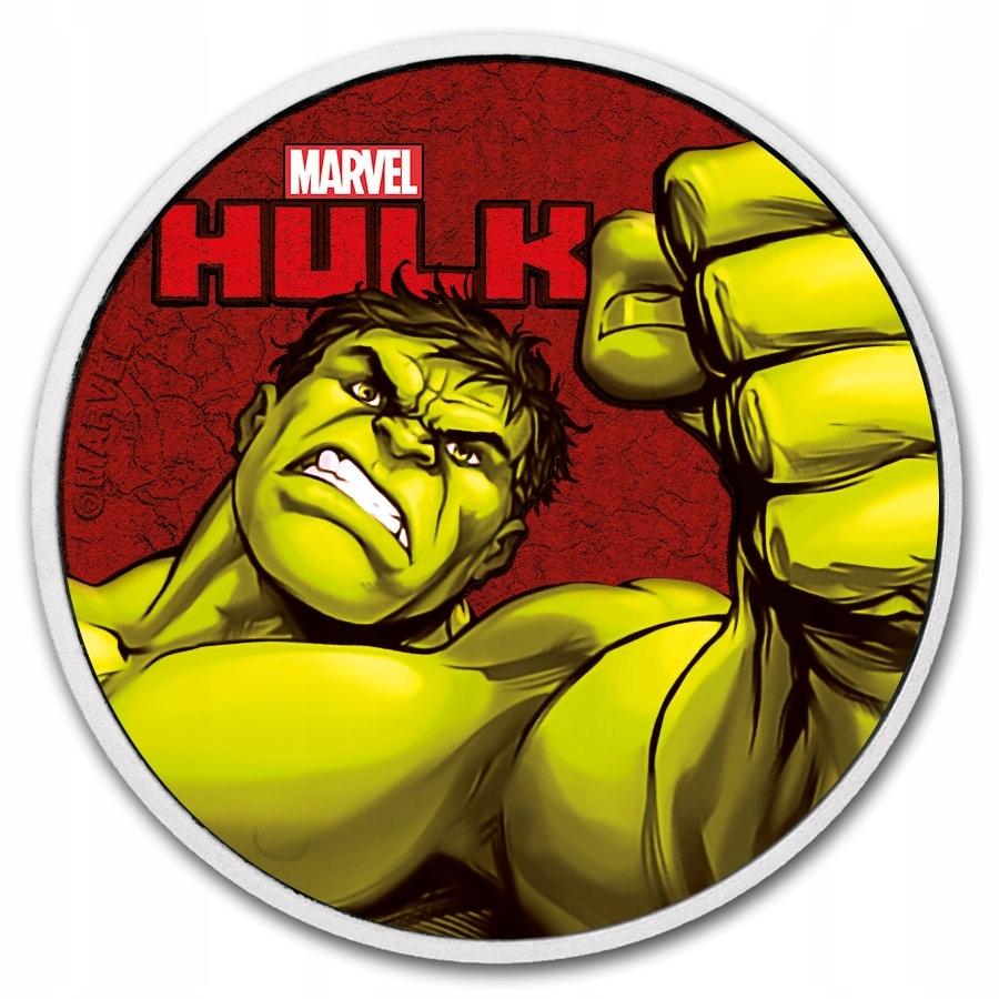 TUVALAU 2019 - Marvel Series - Hulk 1 oz