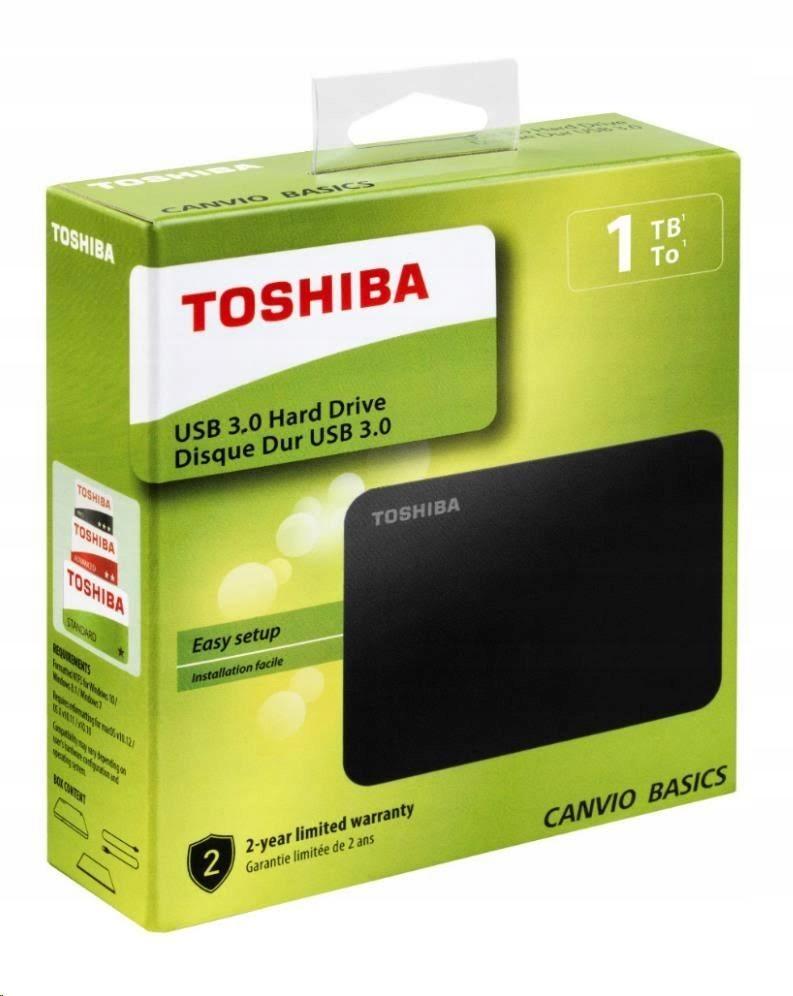 Dysk Zewnetrzny Hdd Toshiba Canvio Basics 1tb 9189007483 Oficjalne Archiwum Allegro
