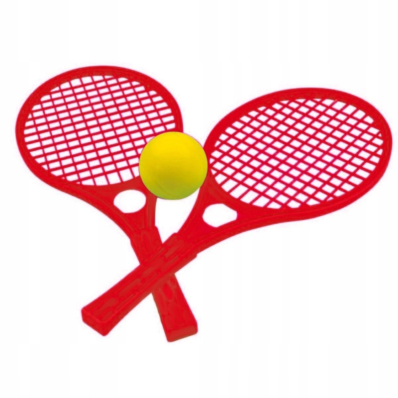 Czerwone Rakietki Dla Dzieci Zestaw Tenis MOCHTOYS