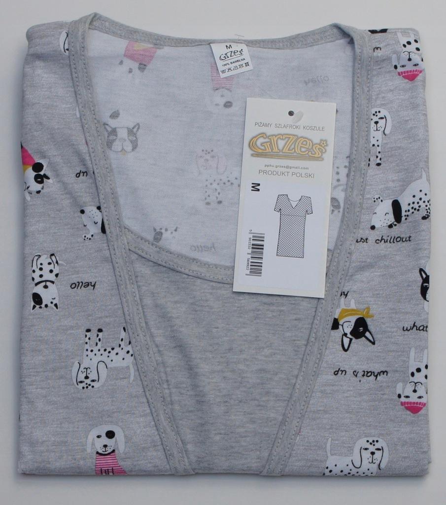 koszula ciąża karmienie M L XL 2XL bawełna Oeko