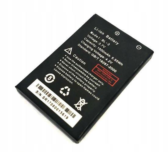 BATERIA BAOFENG UV-3R akumulator BL-3 1500mAh ORYG