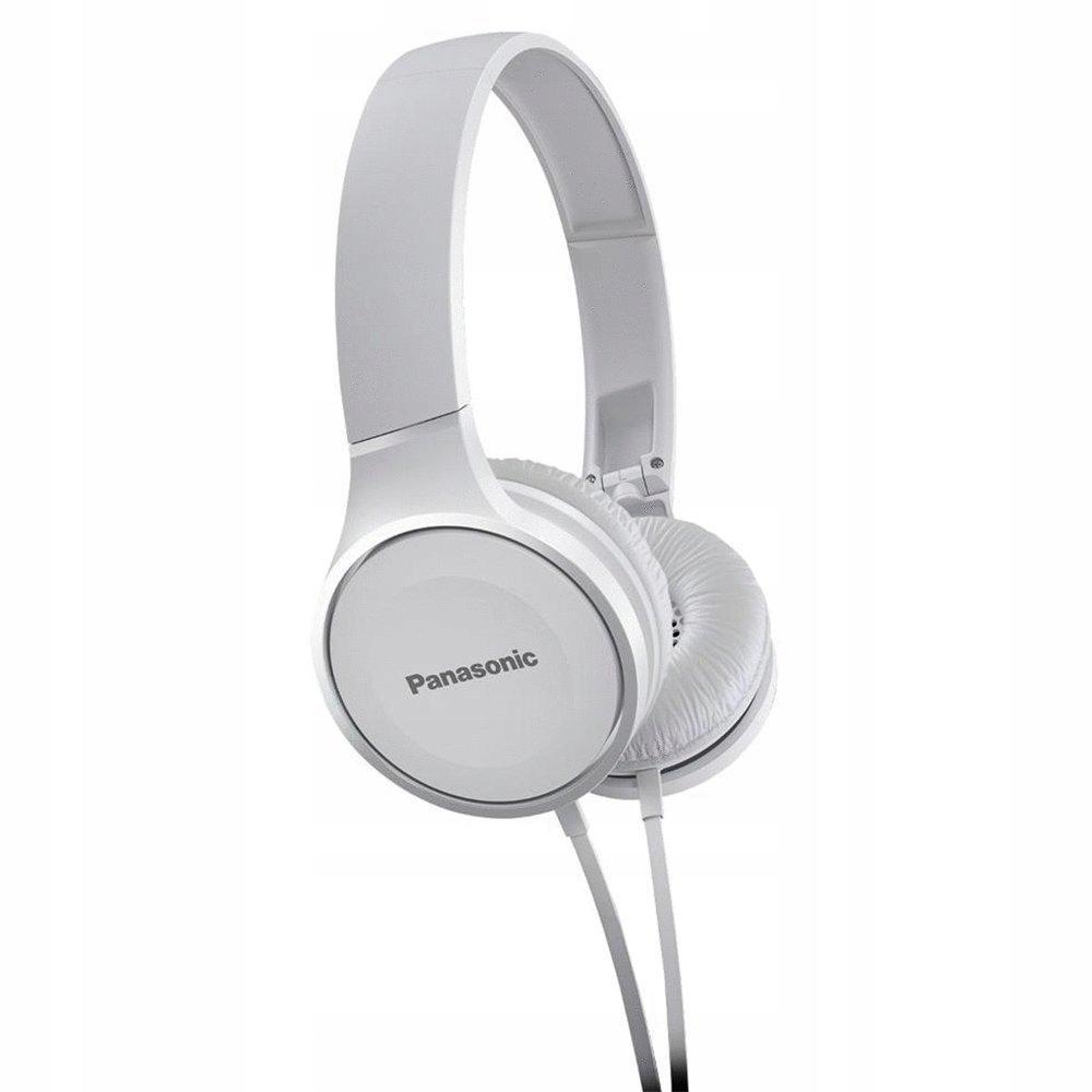 * Słuchawki składane Panasonic RP-HF100-W Białe FV