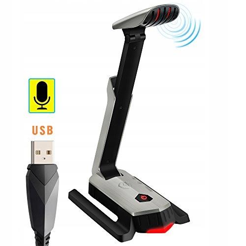 Beexcellent PC mikrofon USB 7.1 do gier, rozmów