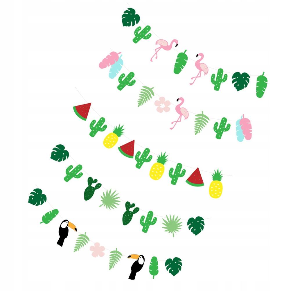 5 sztuk Hawaje Baner imprezowy Trznadel Kreatywne