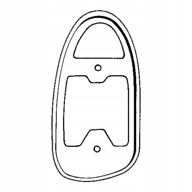 Uszczelka lampy tylnej prawa VW GARBUS 67-72, 1302